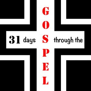 31 Days Through The Gospel Icon Flat