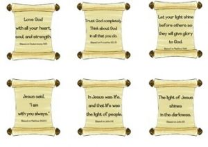 Bible-Scroll-Stickers-Large
