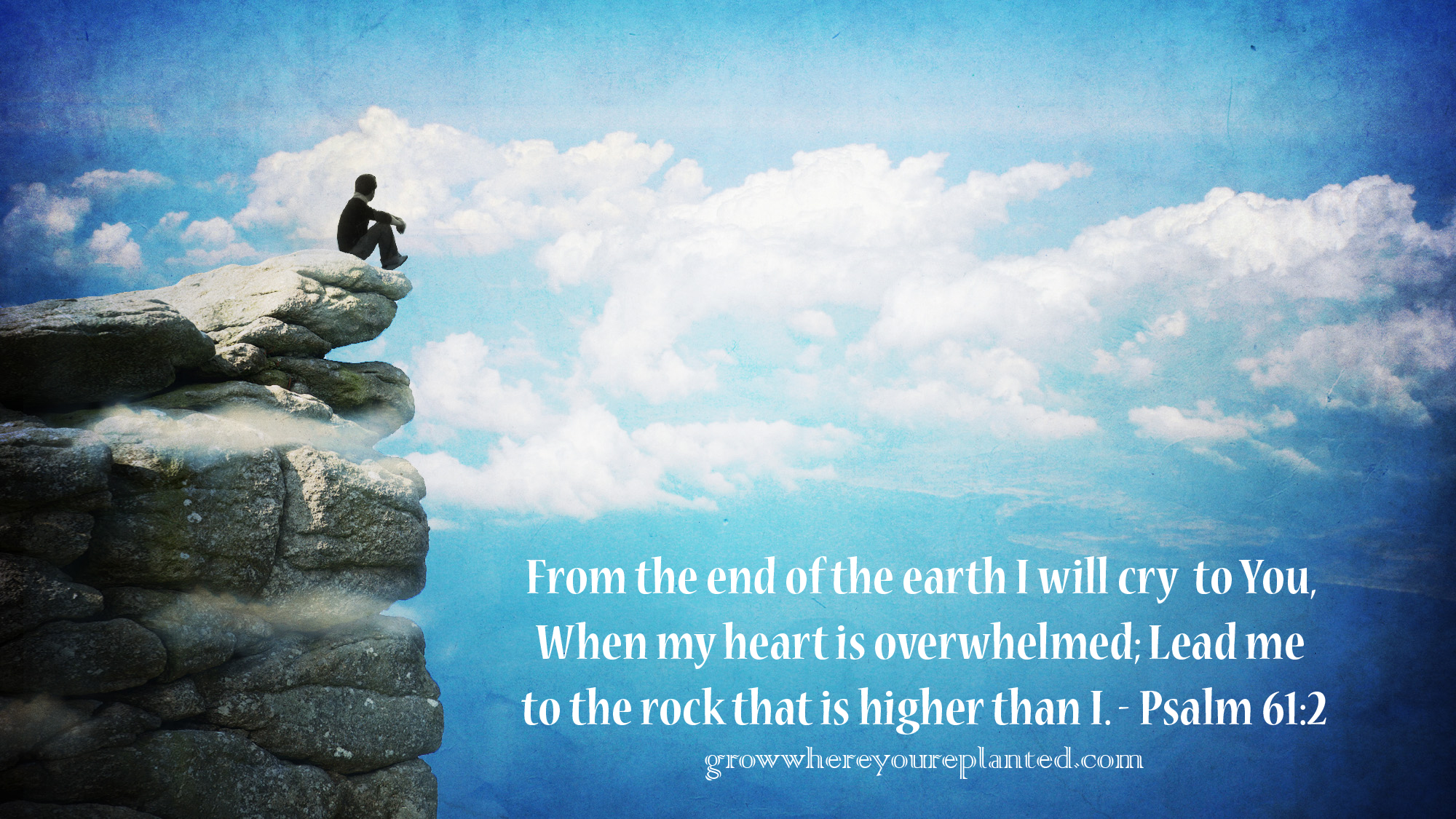 The Rock That Is Higher Than I {Re-Post}